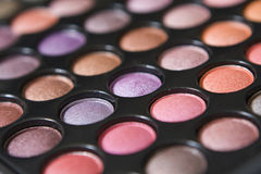 Het Gezoem van de make-up Stock Foto