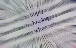 Het Gezoem van de technologie Stock Foto's