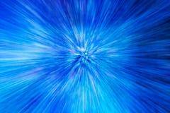 Het gezoem vertroebelde blauwe lichte abstracte achtergrond royalty-vrije stock foto's