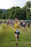 Het gezonde de oefening van de triatlon triathlete sport lopen Royalty-vrije Stock Foto