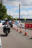 Het gezonde de oefening van de triatlonsport lopen Stock Fotografie