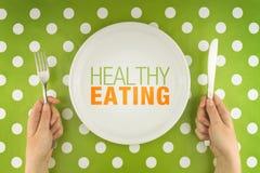 Het gezonde Eten stock afbeelding