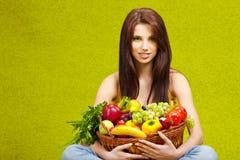 Het gezonde eten, het gezonde leven Stock Foto