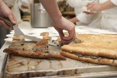 Het gezonde Koken stock foto's