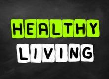 Het gezonde Leven vector illustratie