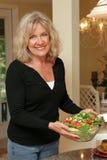 Het gezonde Leven - Salade Stock Fotografie