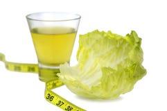 Het gezonde op dieet zijn Royalty-vrije Stock Afbeelding
