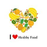 Het gezonde voedsel Stock Foto's