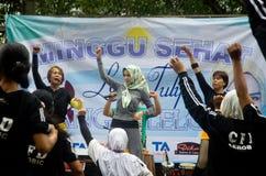 HET GEZONDHEIDSPROBLEEM VAN INDONESIË Stock Foto