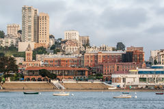 Het Ghirardelli-Vierkant in San Francisco, CA, de V.S. Royalty-vrije Stock Foto's