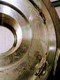 Het gieten tekort in baan van de roestvrij staal de reusachtige grootte stock afbeelding
