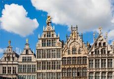 Het Gildehuizen van Antwerpen royalty-vrije stock foto's