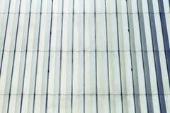 Het glanzen blauw en de oppervlakte van de witmetaalmuur, retro textuur Royalty-vrije Stock Fotografie