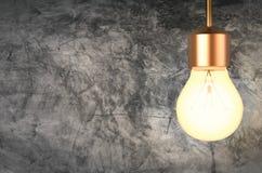 Het glanzen lightbulb royalty-vrije stock foto