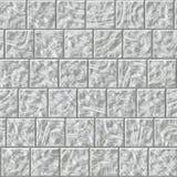 Het glanzende weerspiegelende glasvierkant betegelt patroon Stock Afbeelding