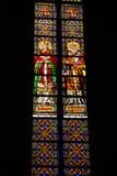Het glas Barcelona van de kerk Royalty-vrije Stock Foto