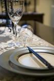 Het glas en de eetstokjes van de wijn Royalty-vrije Stock Foto's