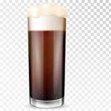 Het glas van het bier Transparante kop stock illustratie