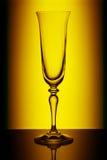 Het glas van Champagne stock afbeelding