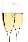 Het glas van Champagne Royalty-vrije Stock Foto