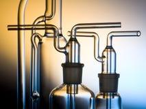 Het glas van de chemicus Stock Afbeelding