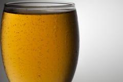 Het glas van de close-upbel bier Royalty-vrije Stock Afbeeldingen