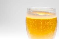 Het glas van de close-upbel bier Stock Fotografie