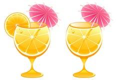 Het glas van de cocktail Royalty-vrije Stock Afbeelding