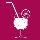 Het glas van de cocktail Royalty-vrije Stock Foto's