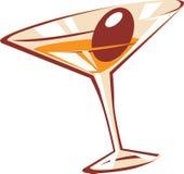 Het glas van de cocktail Stock Afbeelding