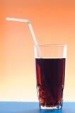 Het glas van de cocktail met jackstraw Royalty-vrije Stock Foto