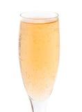 Het glas van de drinkbeker met open vlakte stock afbeelding