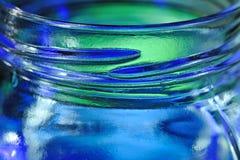 Het Glas van de honing Stock Foto's