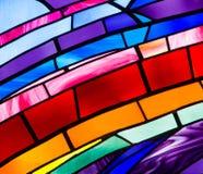 Het Glas van de kleurenvlek royalty-vrije stock afbeeldingen
