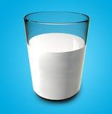 Het Glas van de melk Stock Afbeeldingen