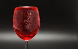 Het glas van de rode Wijn Royalty-vrije Stock Fotografie