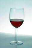 Het Glas van de wijn. Stock Foto's