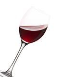 Het glas van de wijn. Stock Illustratie