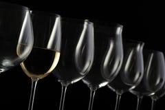Het glas van de wijn Royalty-vrije Stock Fotografie