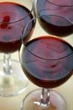 Het Glas van de wijn Stock Foto's