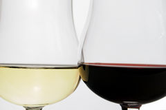Het glas van de wijn Royalty-vrije Stock Foto