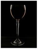 Het glas van de wijn met wijn stock foto's