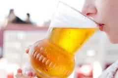 Het glas van het bier Stock Foto