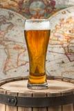 Het glas van het bier royalty-vrije stock foto's