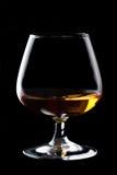 Het glas van het cognacglas cognac royalty-vrije stock foto