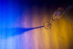 Het Glas van het kristal Royalty-vrije Stock Foto's