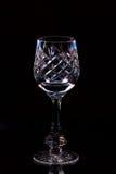 Het glas van het kristal Royalty-vrije Stock Afbeeldingen