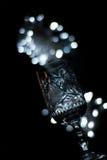 Het glas van het kristal Stock Foto's