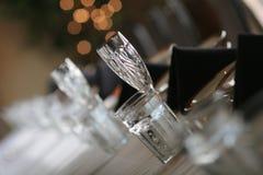 Het glas van het kristal Royalty-vrije Stock Afbeelding