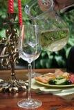 Het glas van het kristal Royalty-vrije Stock Fotografie